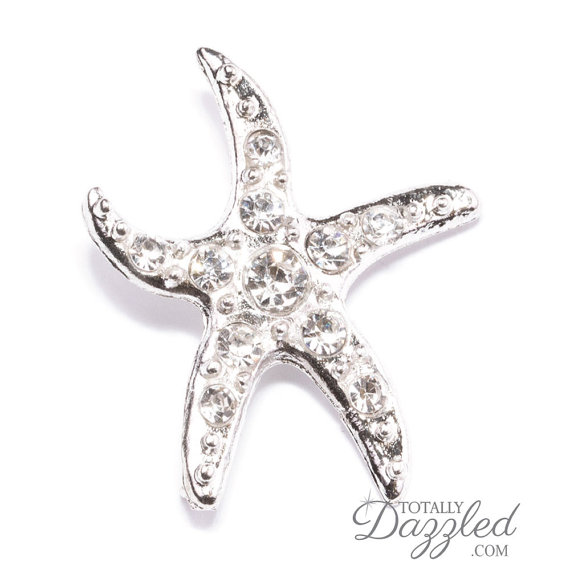 Mariage - 1pc Wholesale Starfish Buckles, Wedding Card Crafts Starfish Ornament Wedding Decor Bouquet Decoration Ribbon Slider Buckles, Buckle 313-S