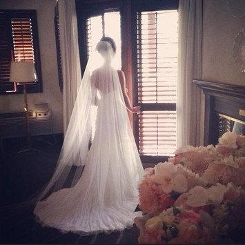 Mariage - Elegant Simple Chapel Veil