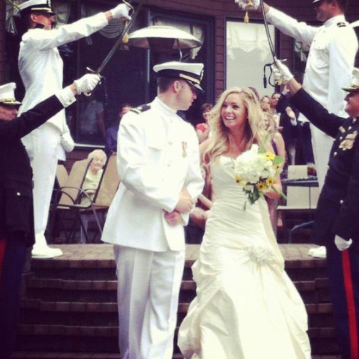 Свадьба - Navy L♡ve = SeaBee Baby!