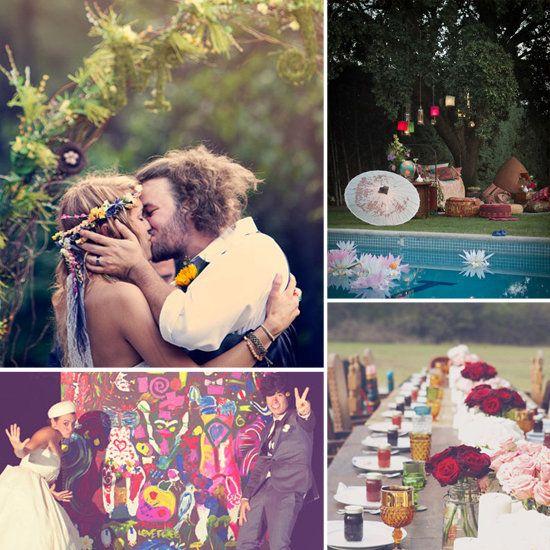 Wedding - The Boho Dance: Beautifully Bohemian Wedding Decor