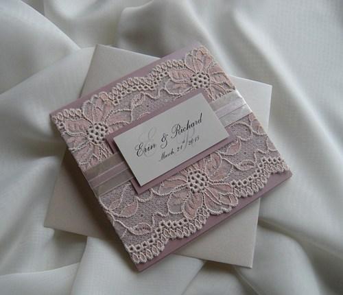 زفاف - Wedding Invitation, Lace Wedding Invitation, Blush Lace Wedding Invita