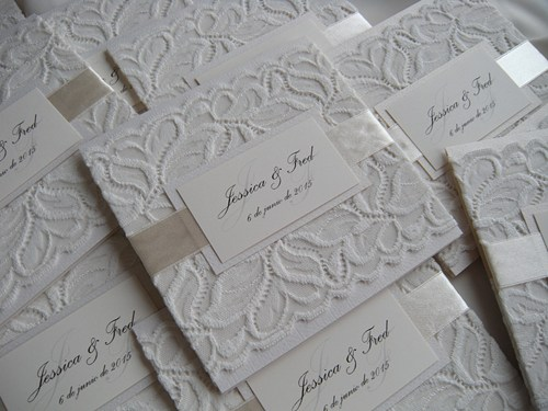 Wedding Invitation Lace: Wedding Invitation, Lace Wedding Invitation, White Lace