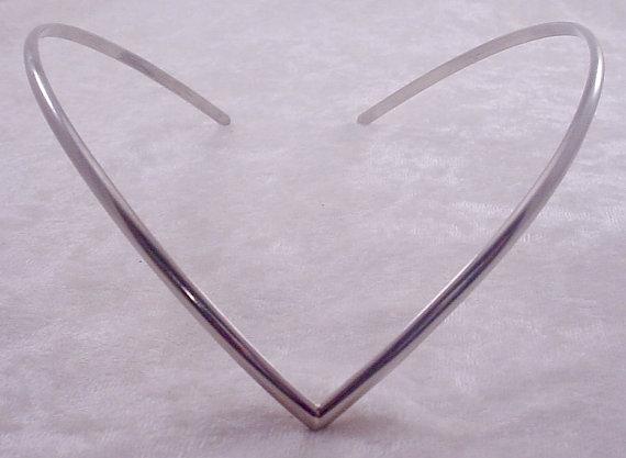 Свадьба - Simple Circlet Headband Silver