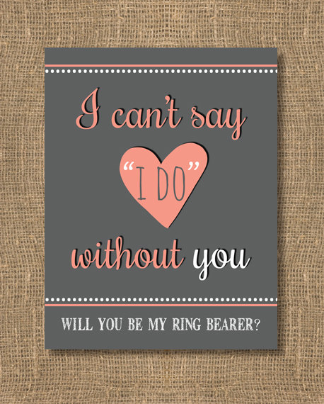 Mariage - Will You Be My Bridesmaid, Will You Be My Maid of Honor, Bridesmaid Invitation