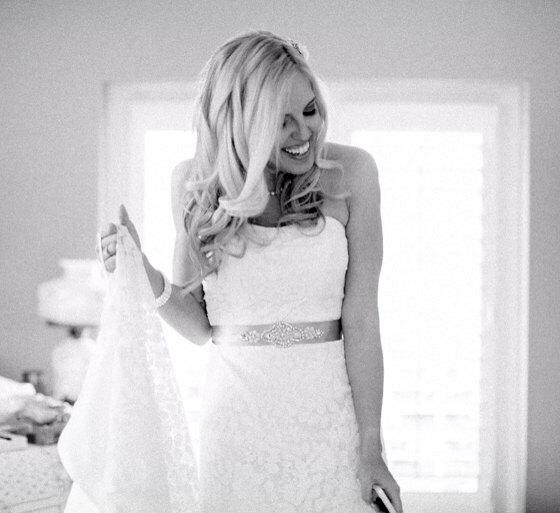 Mariage - EMMA Crystal and Pearl Wedding Belt, Wedding Sash, Bridal Belt, Bridal Sash, Dress Sash, Bridesmaid Belt, Gray Rhinestone Sash, Choose Color