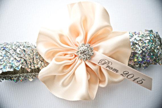 Prom Garter Wedding 2015 Garters Lingerie Sequin Bridal With Handmade Satin Flower