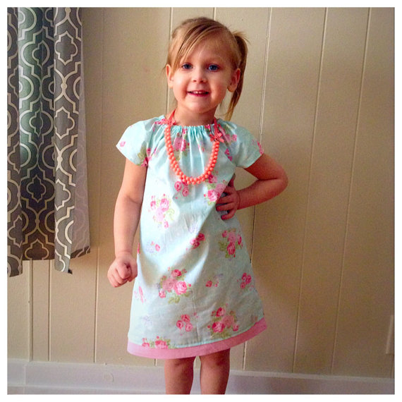 Girls Spring Dress Birthday Gifts Photo Outfits Flower Dress