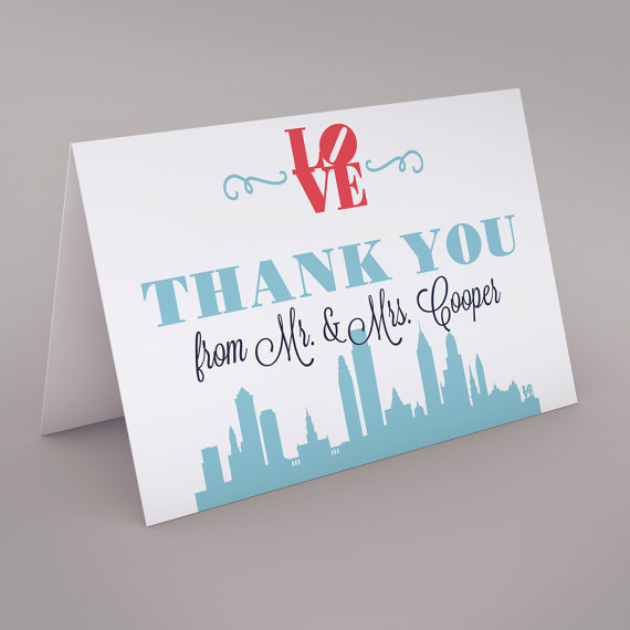 philadelphia thank you cards wedding thank you cards philadelphia