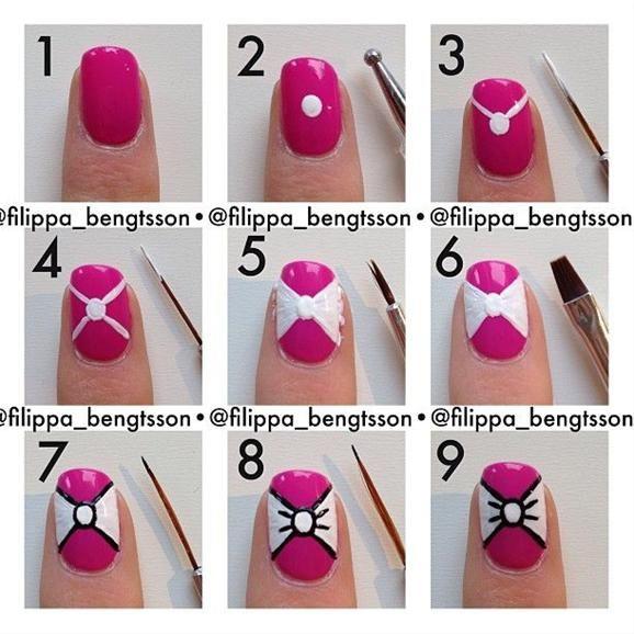 Дизайны ногтей для начинающих в домашних условиях