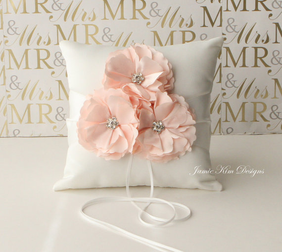 Mariage - Ring Bearer Pillow/ Wedding Pillow
