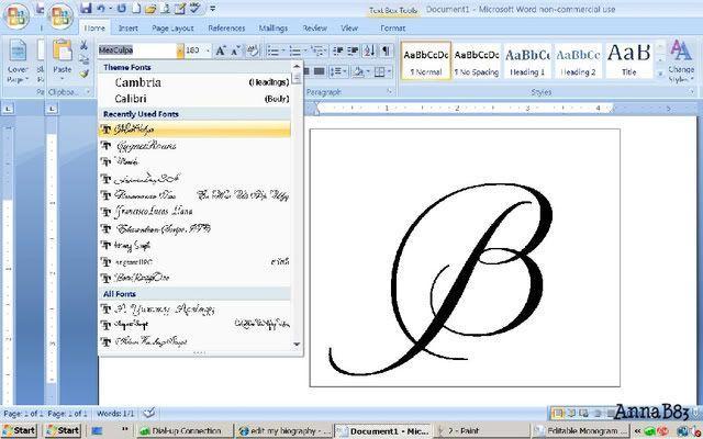 Как сделать красивый шрифт в ворде онлайн - Mosstroyservice