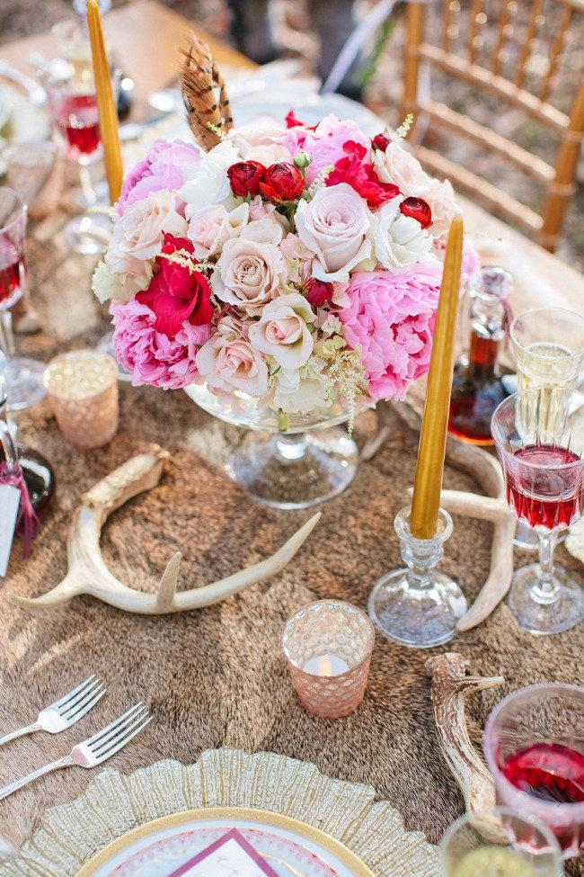 Wedding - Bohemian Photo Shoot By Visions Event Studio   Natural Beauties Floral Inc.
