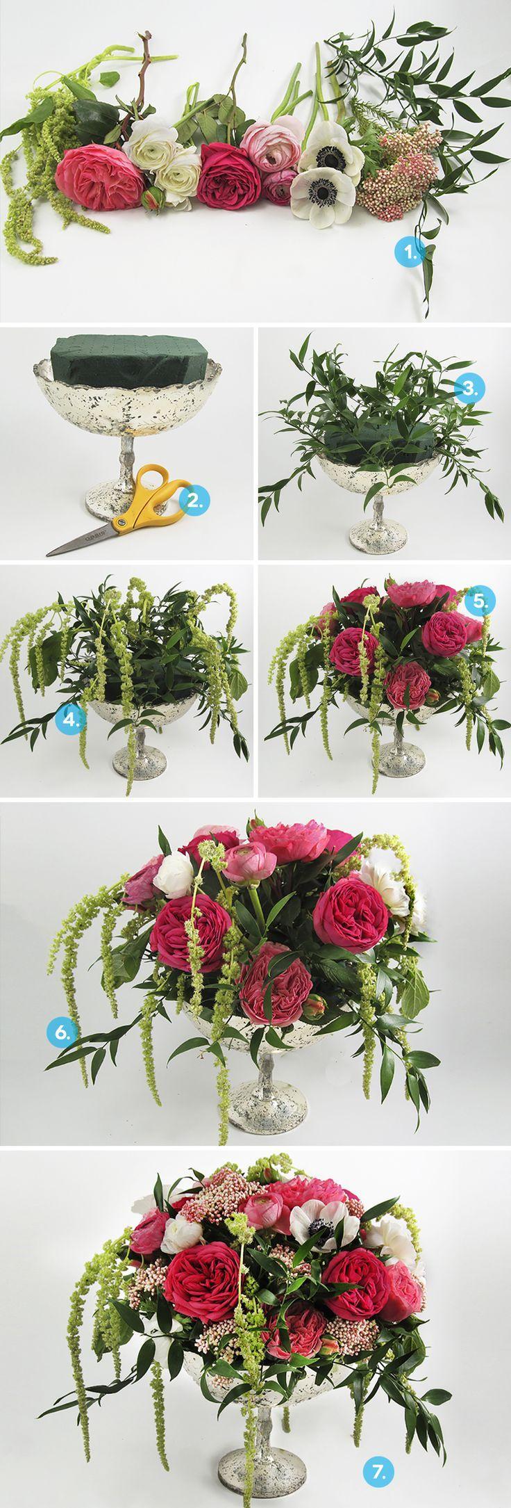 Wedding - How To: Create A DIY Anemone Centerpiece