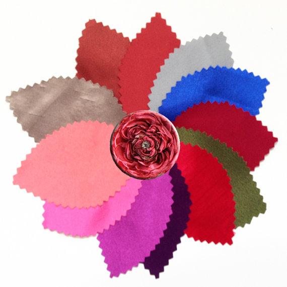 زفاف - Bridal Sash - Wedding Accessories, Fabric, Ribbon Color Swatch