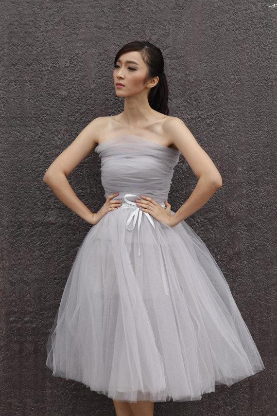 Tulle corset wedding corset wedding gown wedding top for Wedding dress with corset top