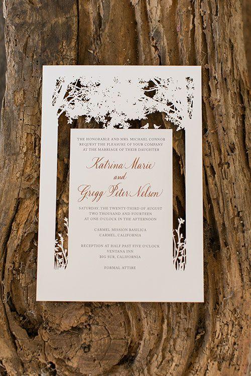 Mariage - An Elegant Wedding Where The Mountains Meet The Sea In Big Sur, California
