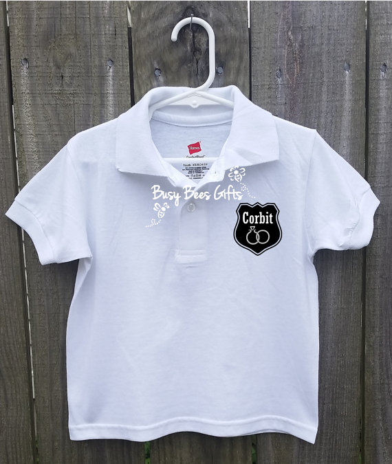 Свадьба - Ring Security ** Polo Shirt ** Personalized ** Youth Sizes (2-20)