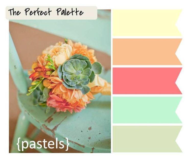 Свадьба - 6 Palette Inspiring Wedding Bouquets!
