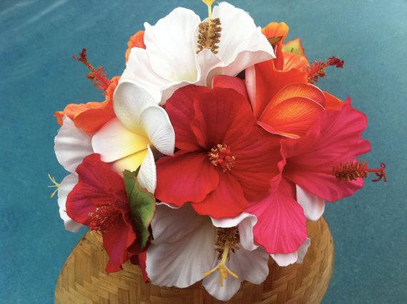 Свадьба - Hibiscus Paradise Bouquet