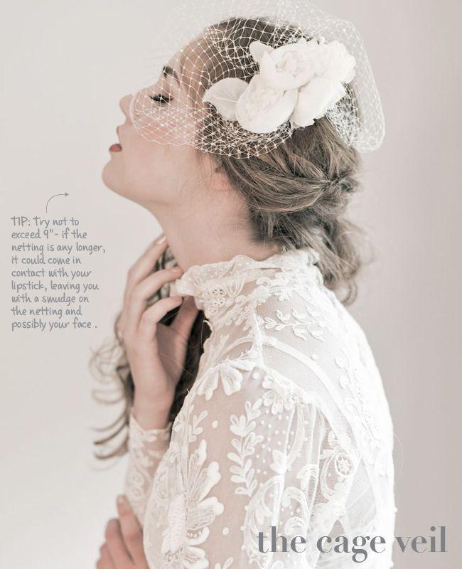 Hochzeit - New Wedding Veil Styles Plus Tips To Wearing Them