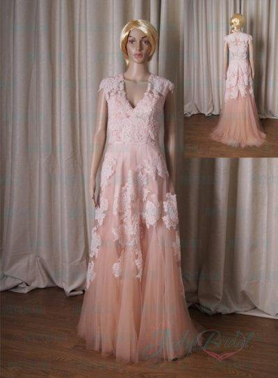Vintage Wedding Dresses with Color