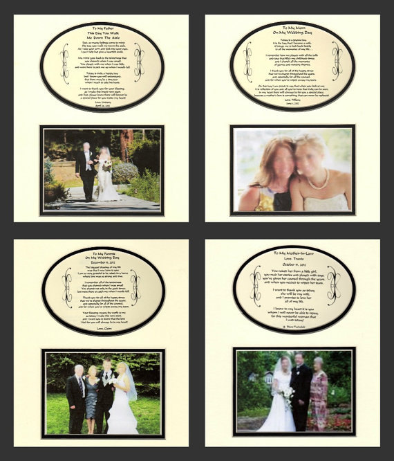 Wedding - Wedding Personalized Gifts buy 3 get on free save 14.99 thank you mother father bride groom