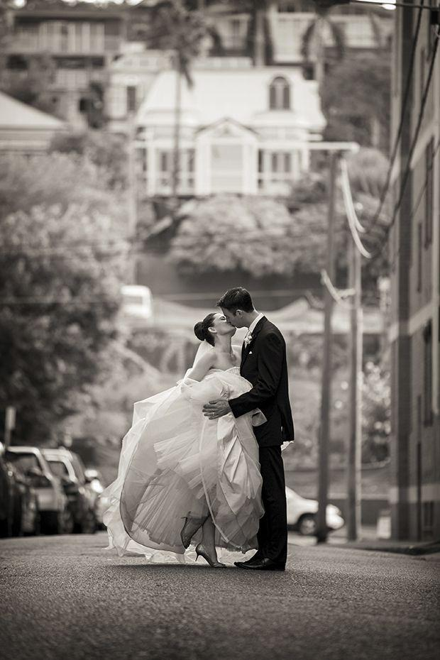 Свадьба - Ballerina Worthy Tulle Gown For A Traditional & Classic Wedding: Rebecca & Scott