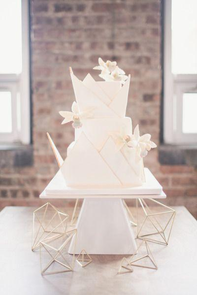 Hochzeit - Modern Geometric Wedding Inspiration