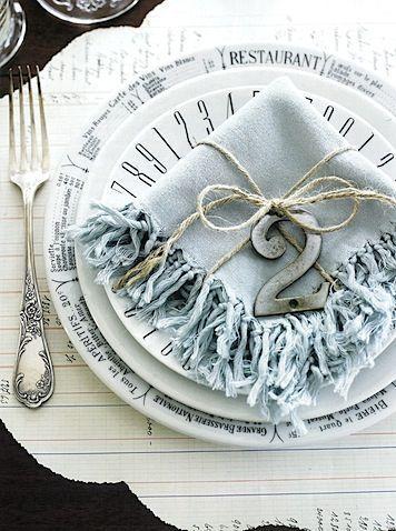 Wedding - Table Settings