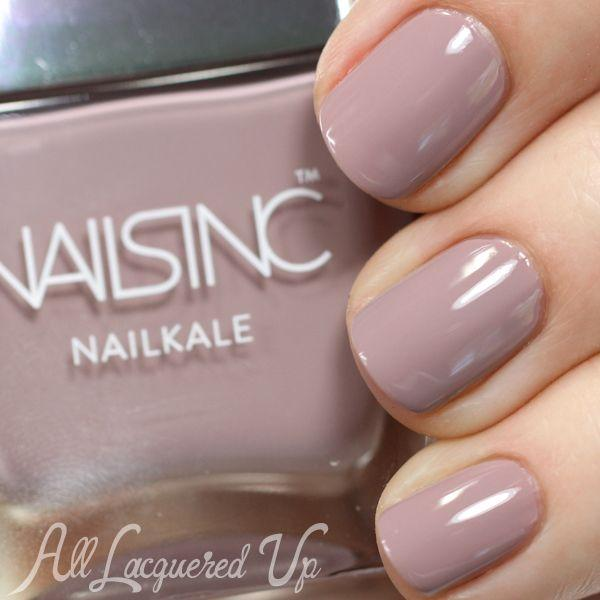Nails Inc Nailkale Nail Polish Swatches Review