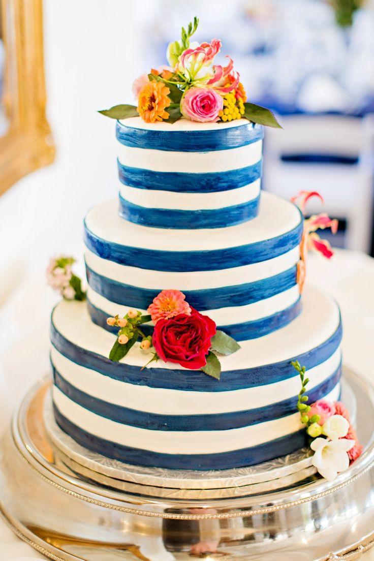 زفاف - A Nautical Coral And Navy Wedding