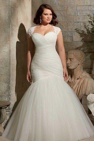 Wedding - 31 Jaw-Dropping Plus-Size Wedding Dresses