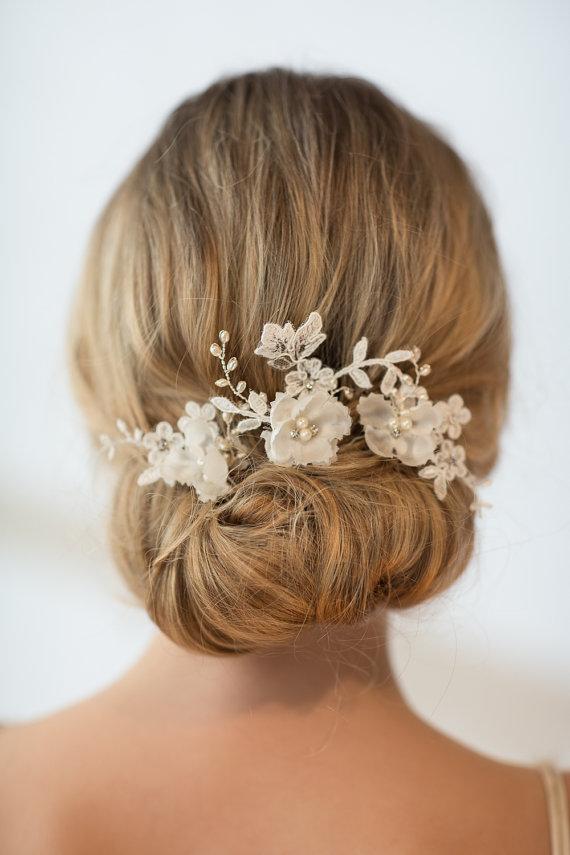 Свадьба - Wedding Hairpins, Bridal Hairpins, Flower Wedding Hair Pins