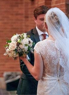 """Mariage - French Alencon Lace Veil Mantilla Lace Veil Scallop Lace Edge Fingertip Veil, 40"""" circle drop veil no gather bridal fingertip bridal veil"""