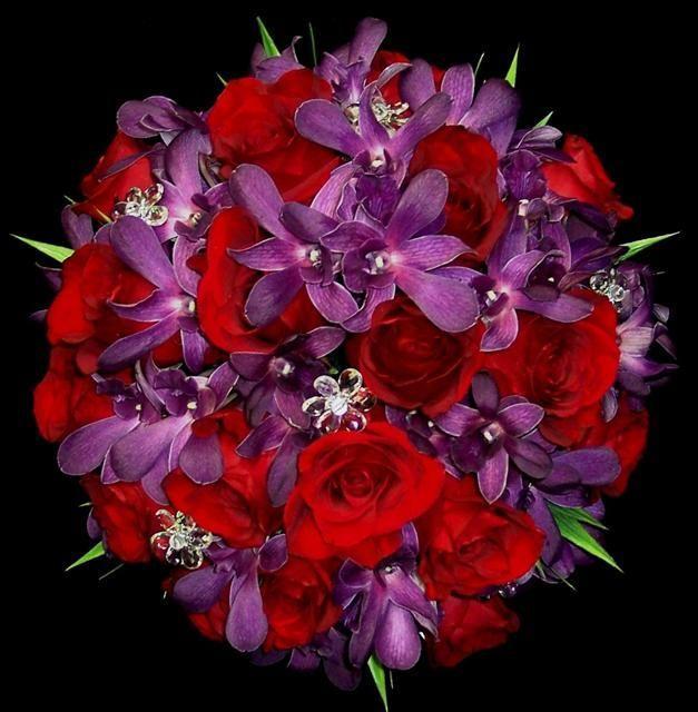 Свадьба - Bridal Bouquet -  Deep Tones