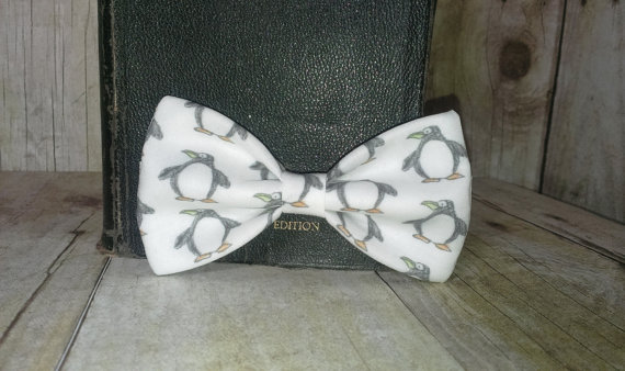 Свадьба - Little Penguins Bow Tie, Clip, Headband or Pet