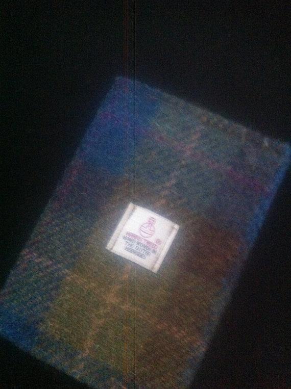Свадьба - Harris tweed passport cover iPhone 4 case wallet made in Scotland tartan man gift groomsmen gift.