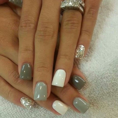 زفاف - Gray Is The Best Color For Any Manicure