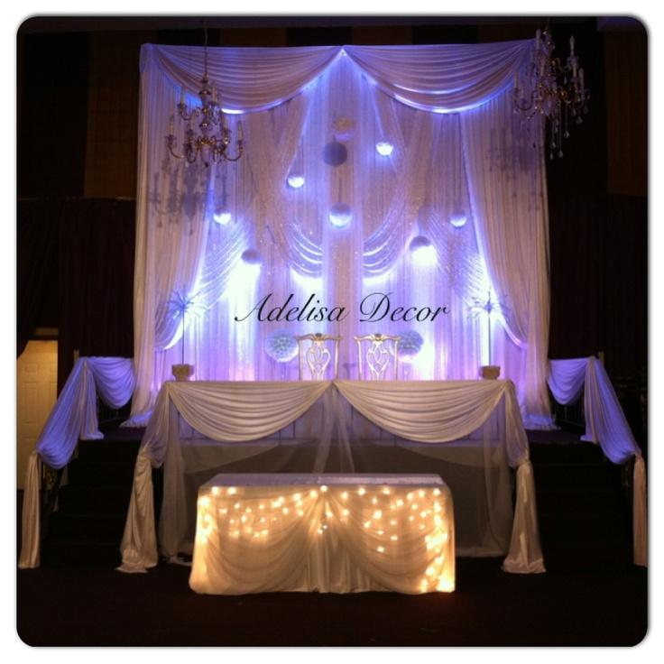 Hochzeit - Wedding Ceremony Drapes - Ceremony Decor