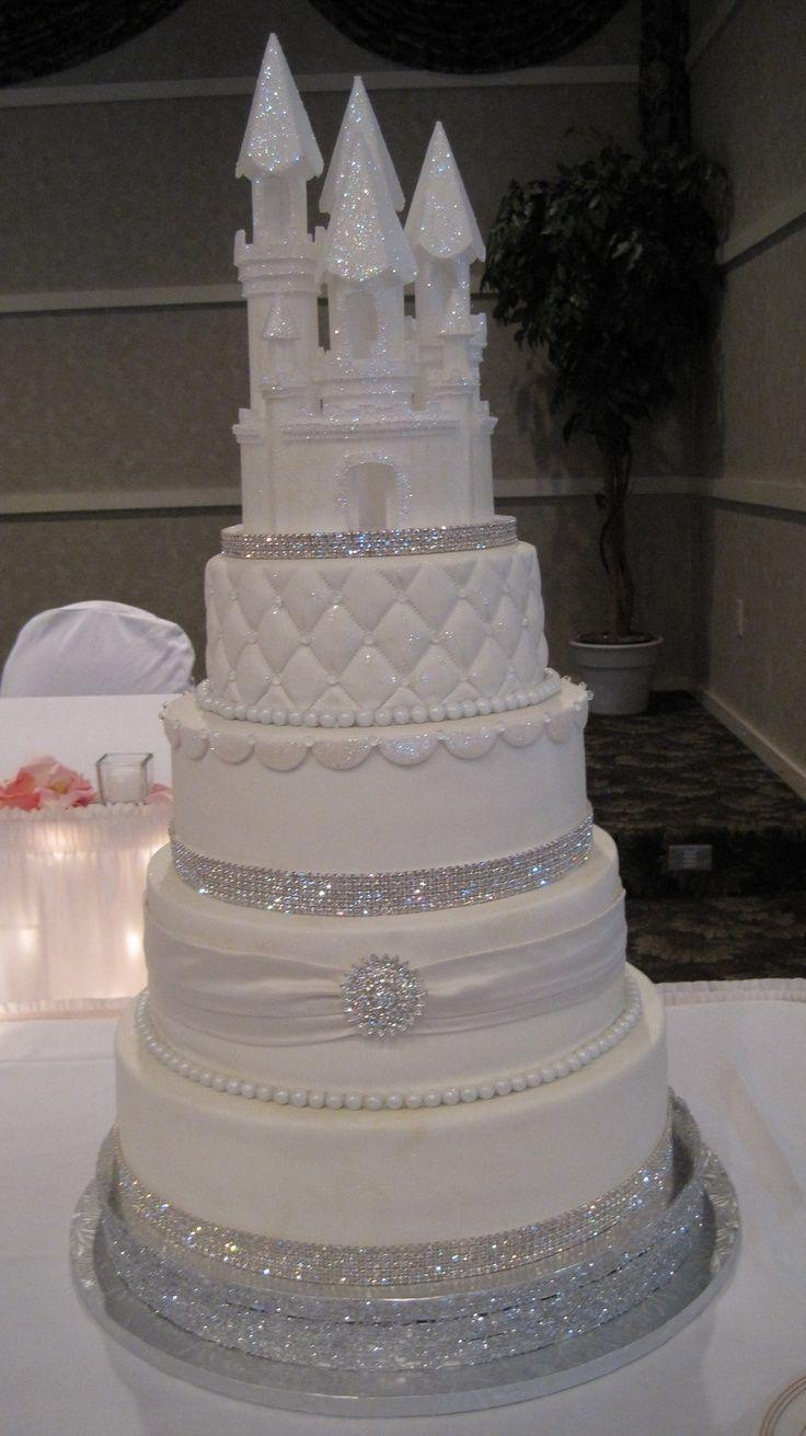 Cake - Pretty Winter Themed Wedding #2271396 - Weddbook