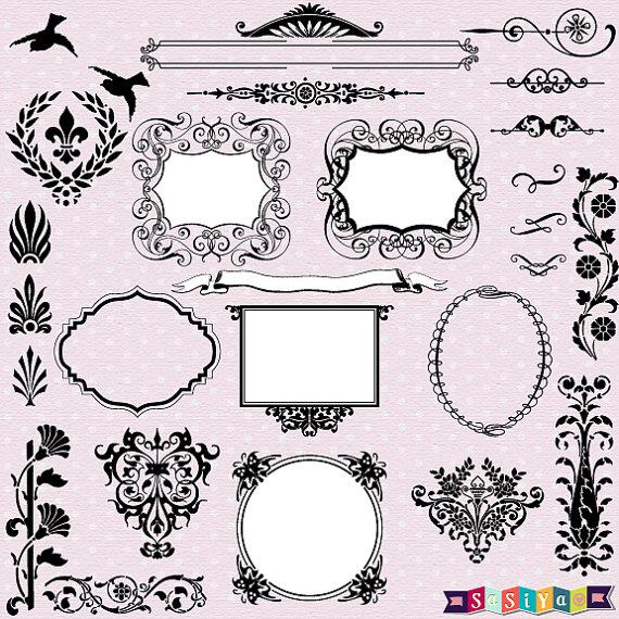 free wedding clip art accents - photo #41