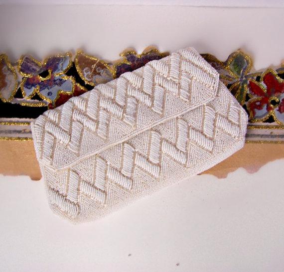Свадьба - Vintage La Regale Clutch / Wedding Handbag / Evening Bag