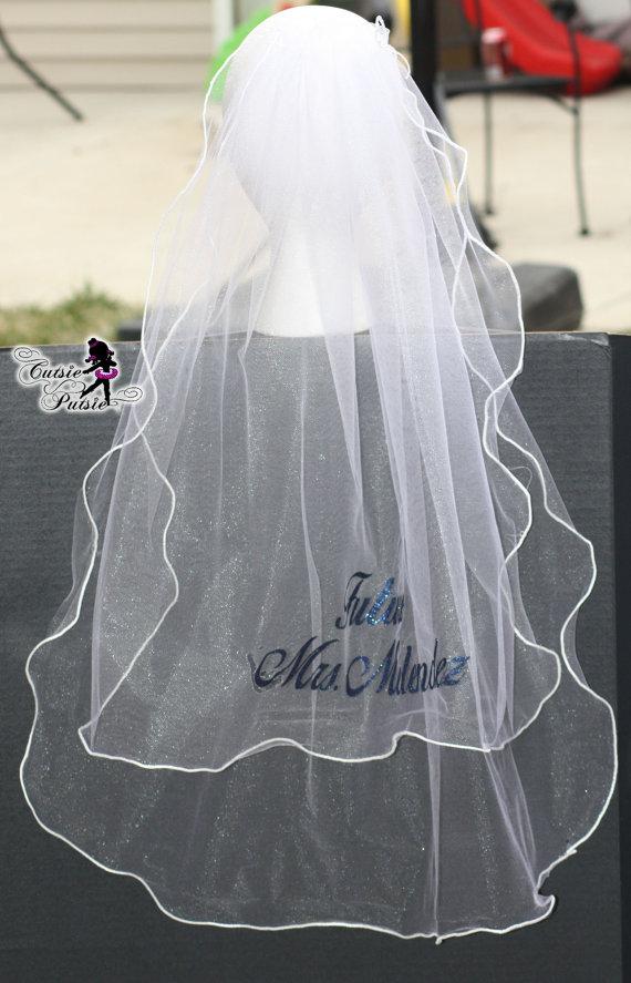 Свадьба - Custom Wedding Veil - Bachelorette Party Veil - Future Mrs. - Personalized Veil - Wedding Veil - Bride Veil - Custom Veil - Brial Shower