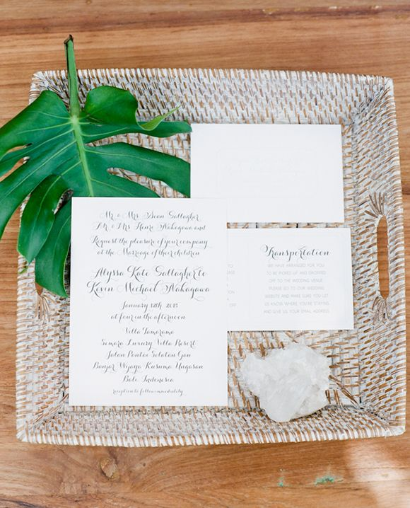 Wedding - Tropical Invitations & Stationery
