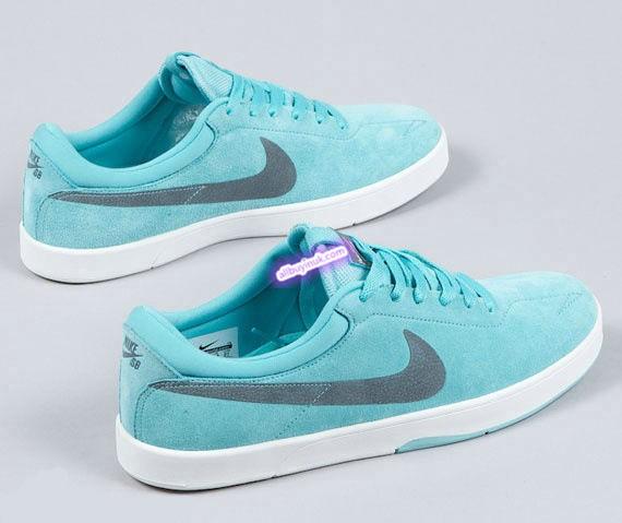 095edff3b5af Tiffany Blue Nike Sb Eric Koston Paradise Aqua Womens Sneakers ...