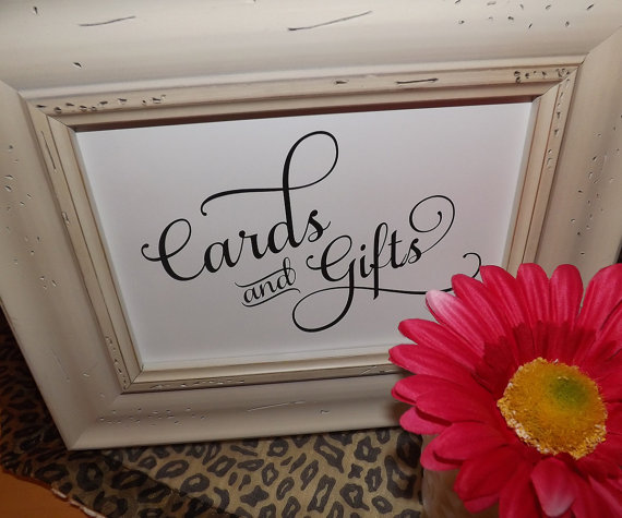 Wedding - Rustic Wedding Signs, Cards and Gifts, Gifts and Cards Signs, Cards, Gifts, Signs, wedding reception signage