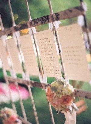 Hochzeit - Escort Cards