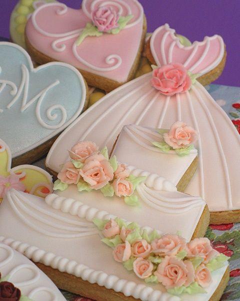 Hochzeit - Hearts, Wedding, Valentine Cookies