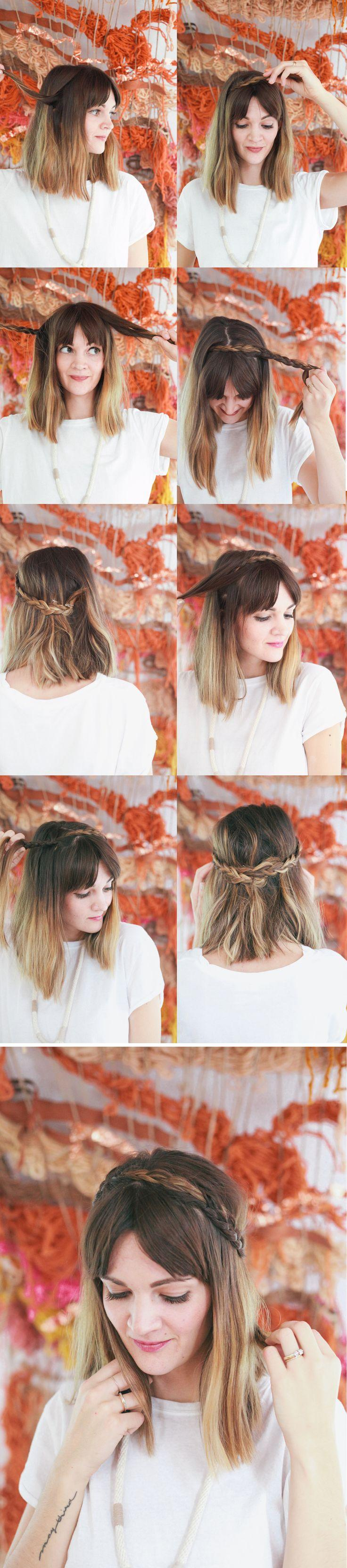 Свадьба - How To Style A Side Braid