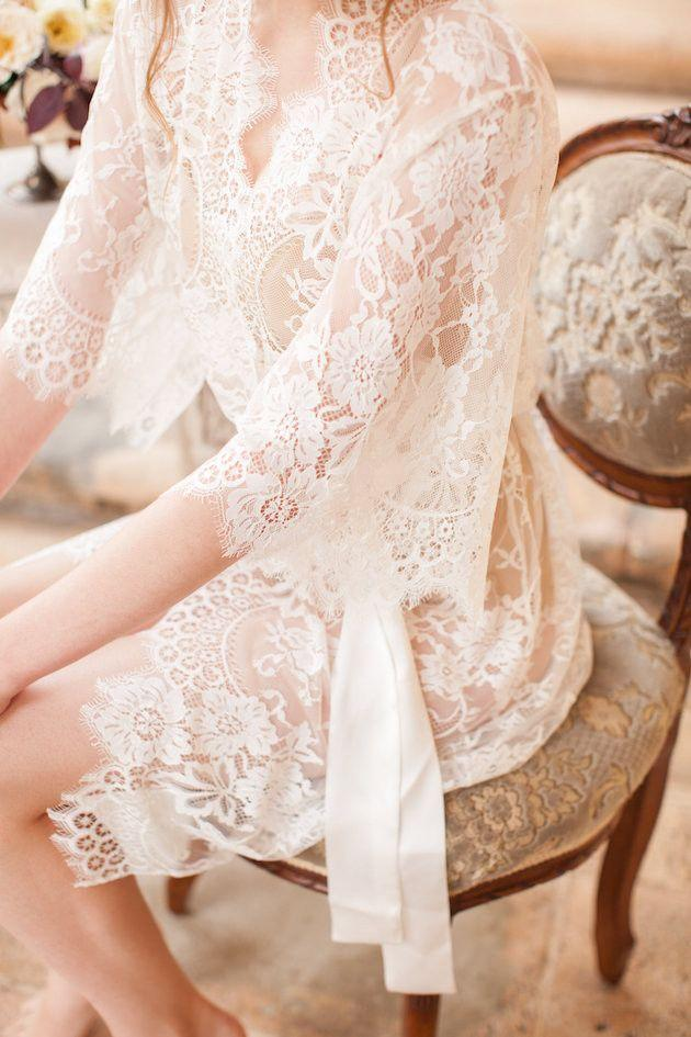 Свадьба - Win A Beautiful Bridal Robe By Girl With A Serious Dream